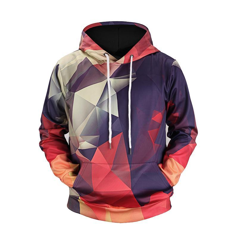 Triangle Pattern Hoodie