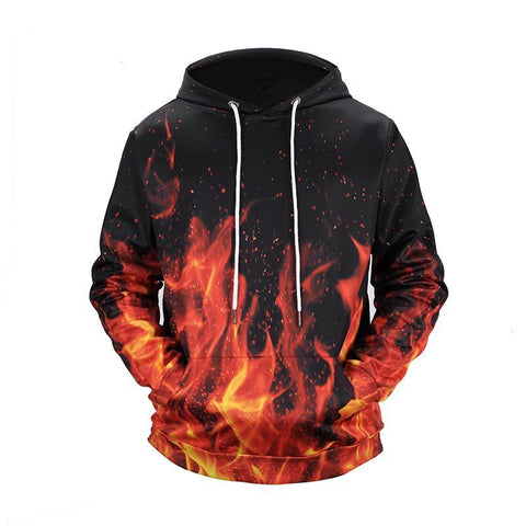 Image of Men's Fire Hoodie