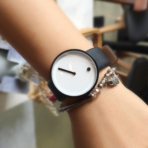 Minimalist Whiteface Watch