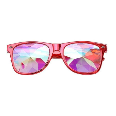 Image of Wayfarer Kaleidoscope Glasses
