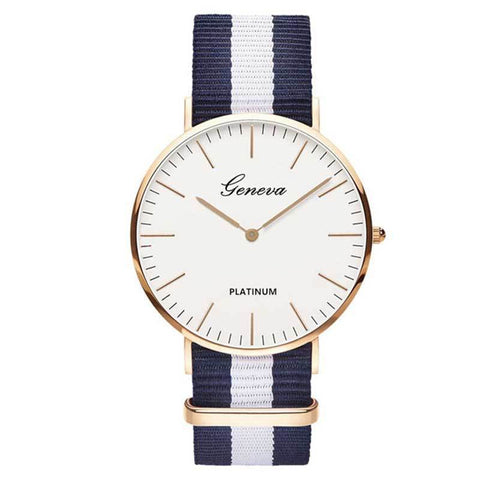 Image of Luxury White Face Watch