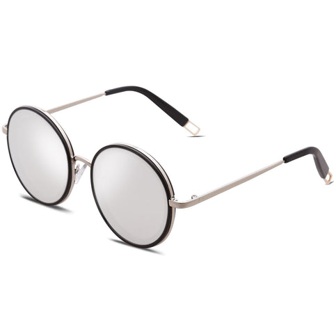 Image of Oversized Round Sunglasses