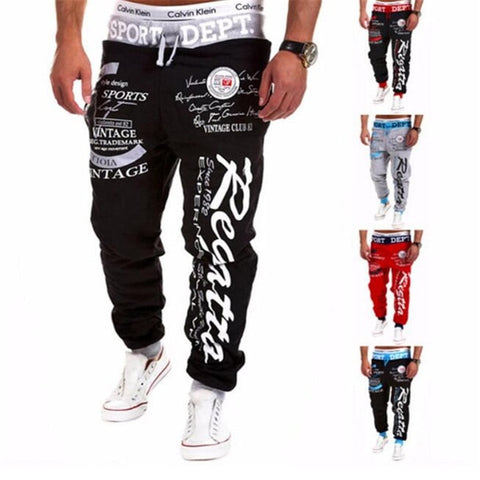 Image of Fashion Print Jogger Sweatpants