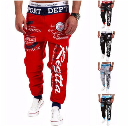Fashion Print Jogger Sweatpants