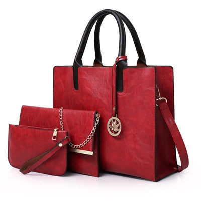 'Sweet Seduction' Women's Leather Handbag
