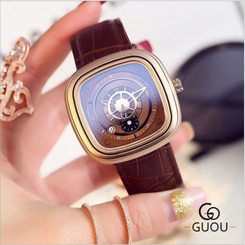 Image of Fashion Rose Gold Bracelet Watch