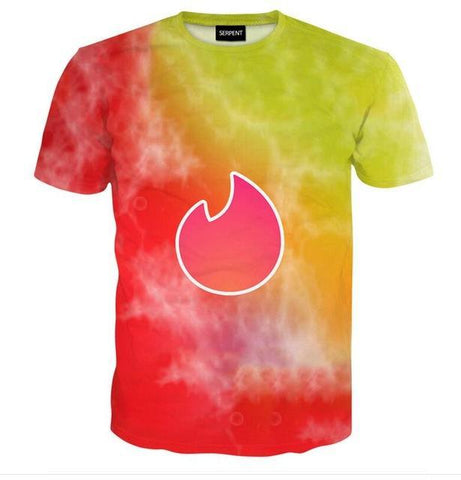 Blooming Fire Tee