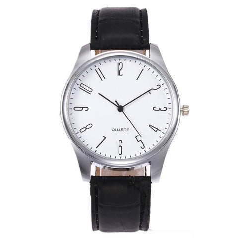 Simple Whiteface Watch
