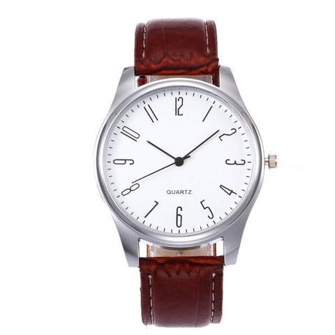 Image of Simple Whiteface Watch