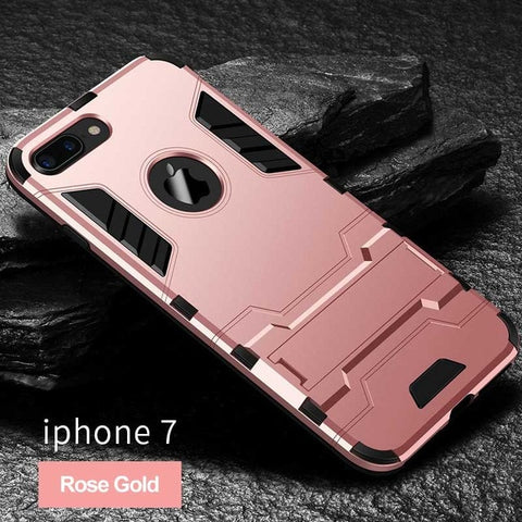 Image of Shockproof Armor Phone Case For iPhone
