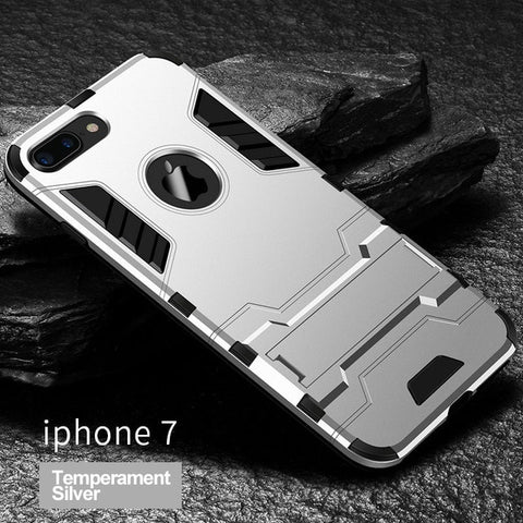 Shockproof Armor Phone Case For iPhone