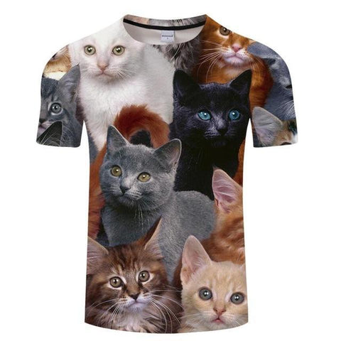 Image of Cat Family Tee