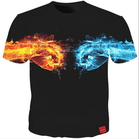 Image of Fire & Ice Tee