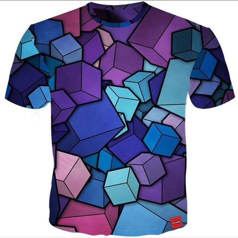 Image of 3D Cube Tee