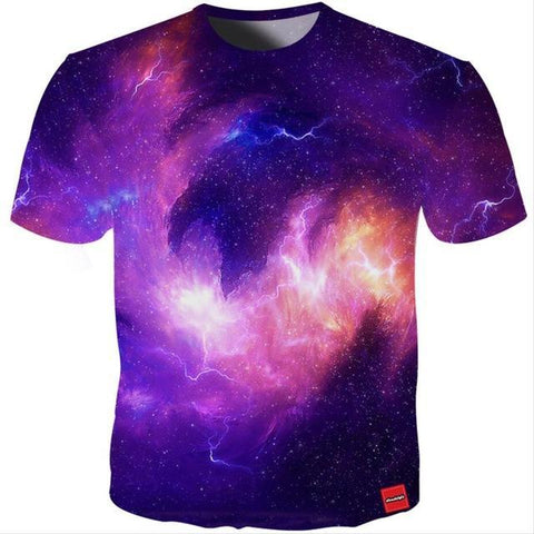 Purple Lightning Tee