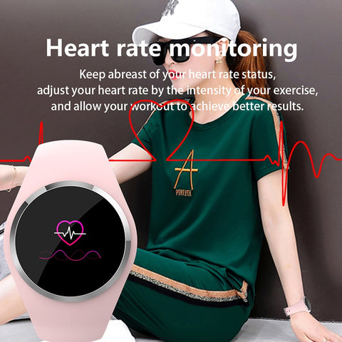 Women's Heart Monitor & Fitness Smartwatch