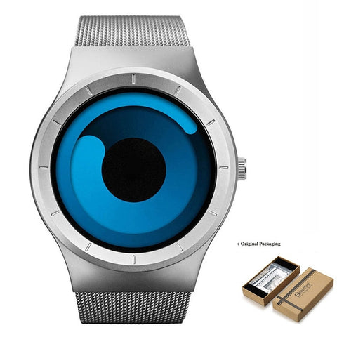 Bluemoon Luxury Casual Stainless Steel Watch