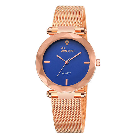 Image of Luxury Rose Gold Womens Watch
