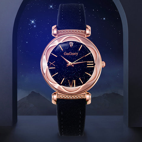 Womens Luxury Starry Sky Watch