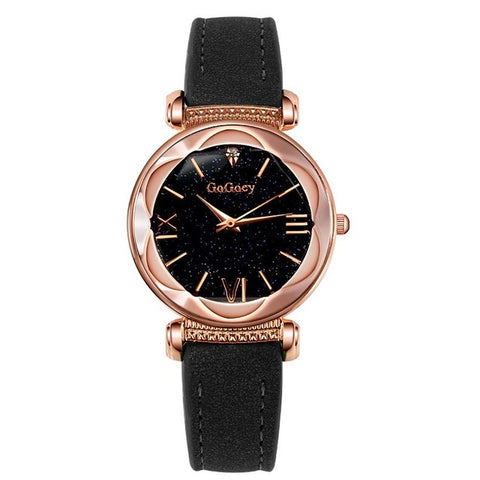 Image of Womens Luxury Starry Sky Watch