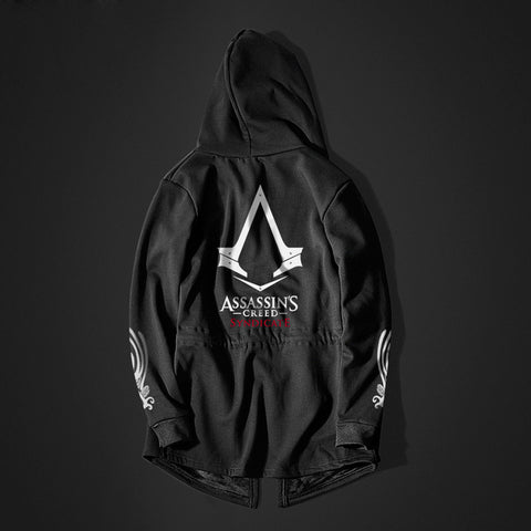 Assasin's Creed Style Long Sleeve Hoodie