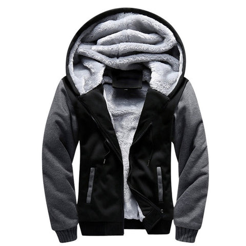 Casual Wool Winter Thick Hoodie