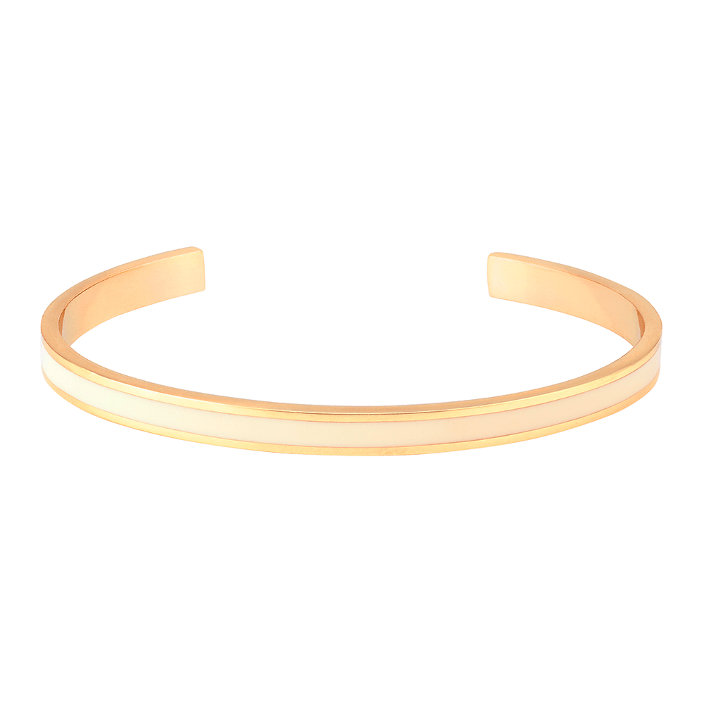 Jonc Bangle - Blanc Sable Jonc BangleUp