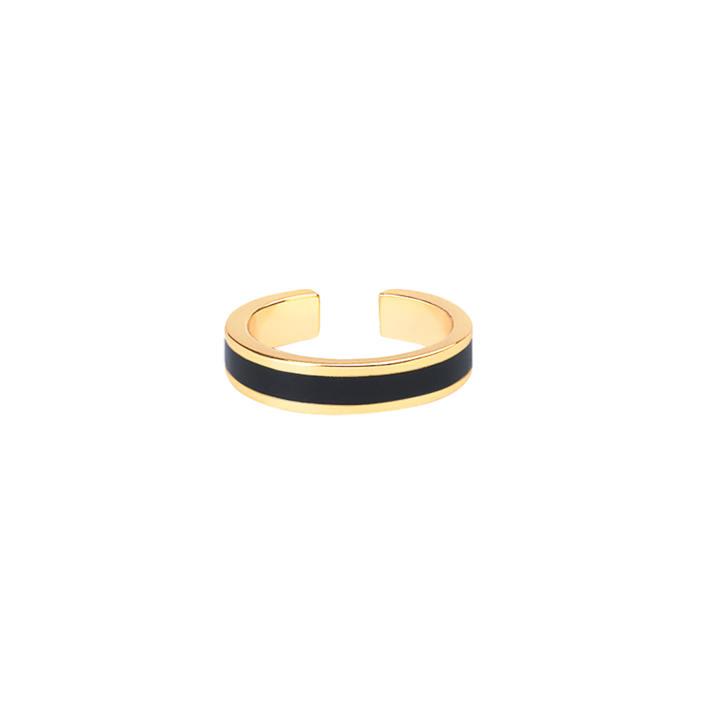 Bague Bangle - Noir