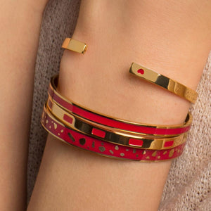 Jonc Bangle - Rouge Velours Jonc BangleUp