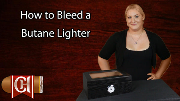 How to Bleed a Butane Lighter - CheapHumidors