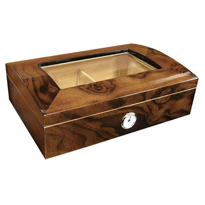 Addison 40 Count Glass Dome Humidor