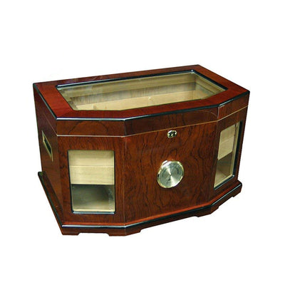 Chancellor 300 Count Glass Top Cigar Humidor