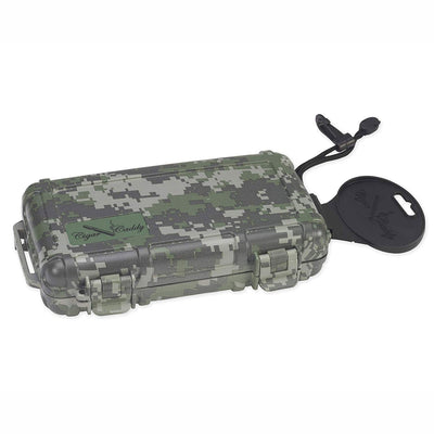 Cigar Caddy 3400 Forest Camouflage 5 Cigar Travel Humidor