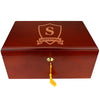 The Winchester Personalized 75 Cigar Humidor