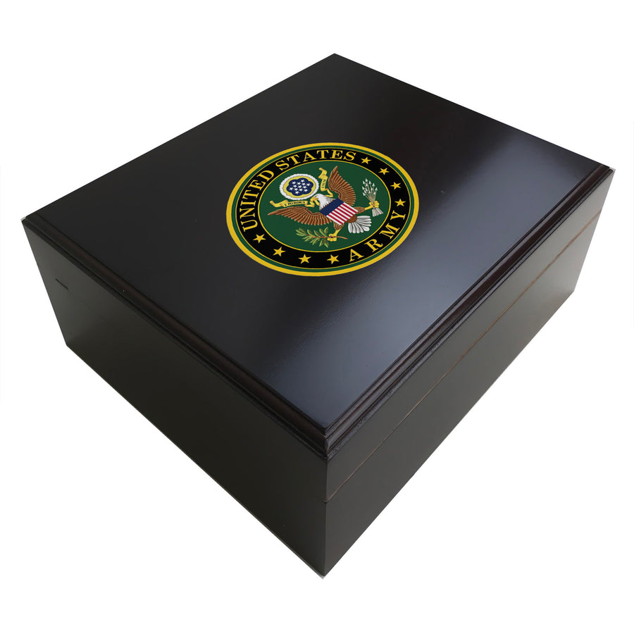 United States Army 25 Cigar Humidor