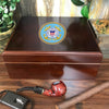 United States Coast Guard 25 Cigar Humidor