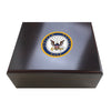 United States Navy 25 Cigar Humidor