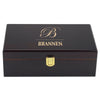 The Traditional Custom Engraved 12 Cigar Humidor