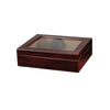 Traveler 20 Cigar Glass Top Humidor - Cherry