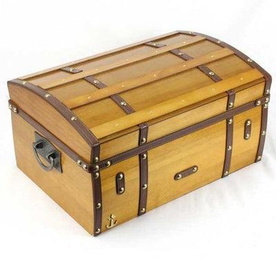 Humidor Supreme Gold Rush 75-100 Cigar Dome Top Humidor