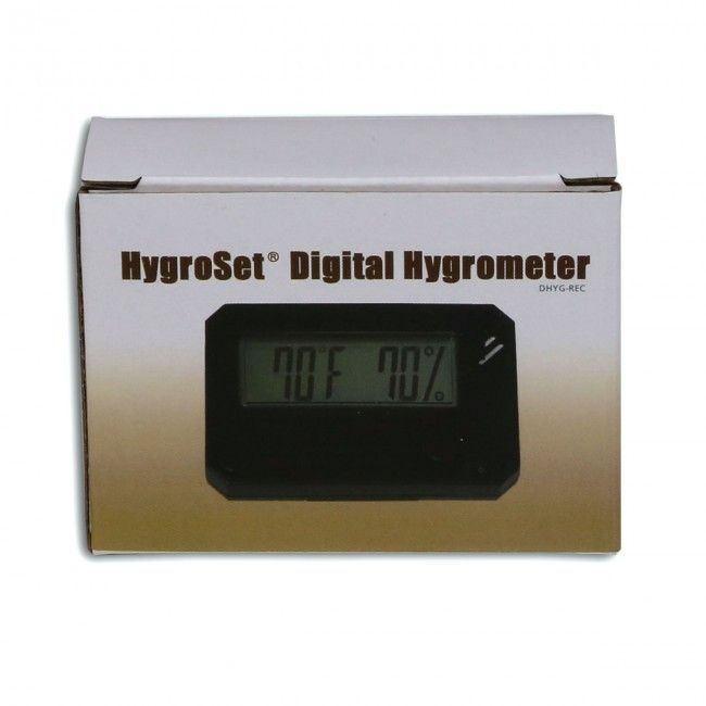 HygroSet Super Accurate Digital Hygrometer