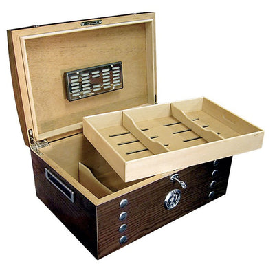 Montgomery 150 Count Studded Chest Cigar Humidor