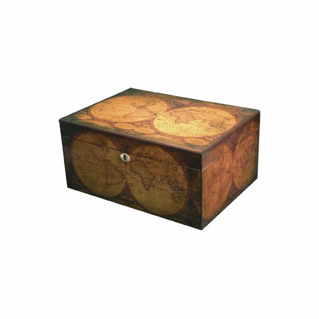 IMPERFECT- Old World 75-100 Cigar Humidor - IMPERFECT