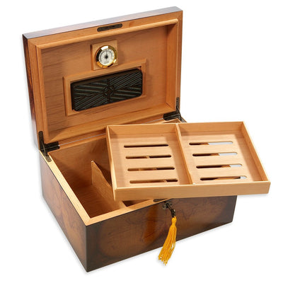 Old World 75-100 Cigar Humidor