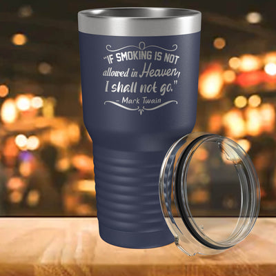 I Shall Not Go Engraved 30 oz Insulated Tumbler with Lid