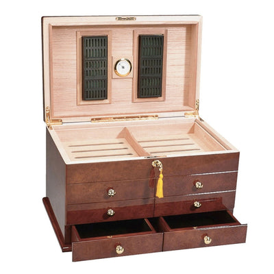 The Ravello High Gloss Cigar Humidor
