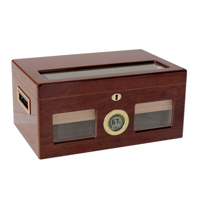 Valencia Display Humidor with Built-In Digital Hygrometer