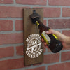 Personalized Wall Mounted Magnetic Bottle Opener