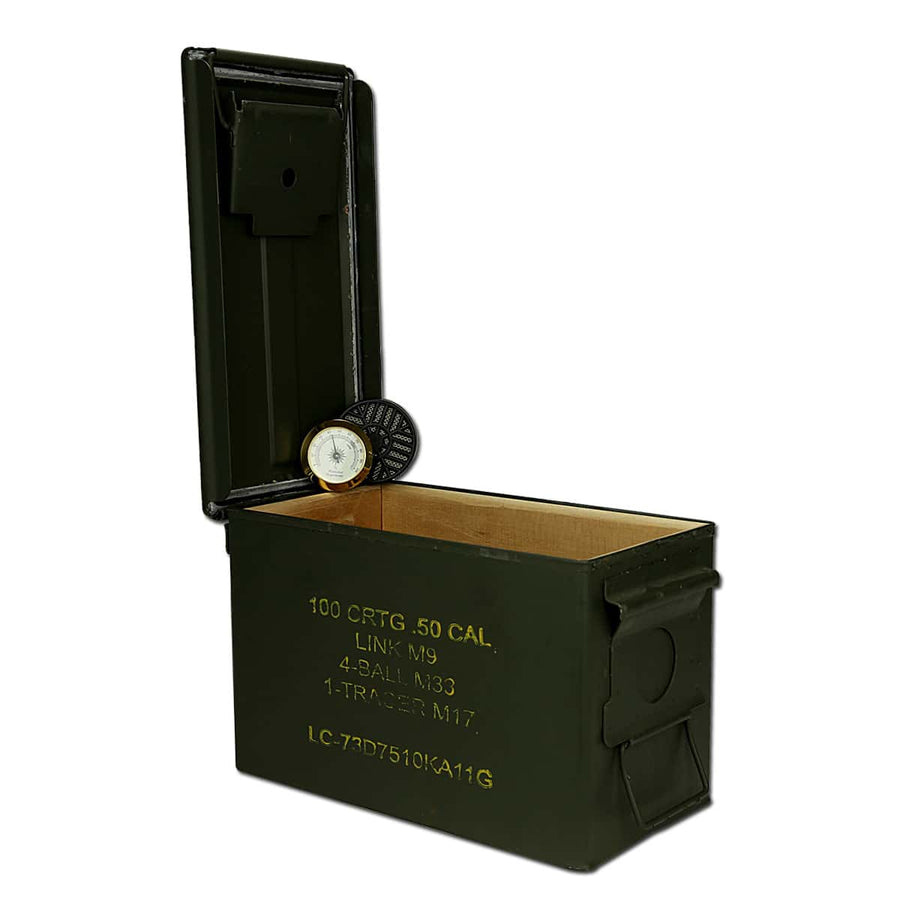 35-50 Cigar Ammo Can Humidor