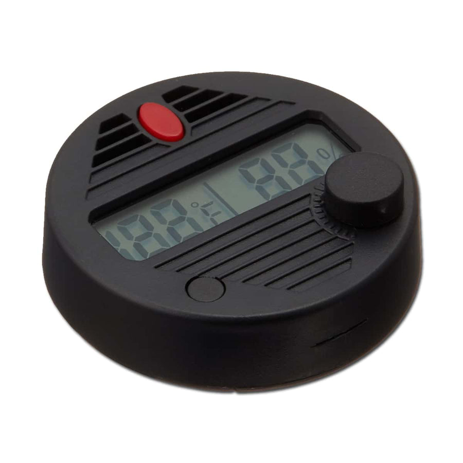 HygroSet Super Accurate Round Digital Hygrometer